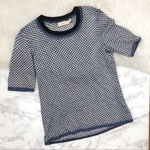 Tory Burch Short Sleeve Sweater Tee